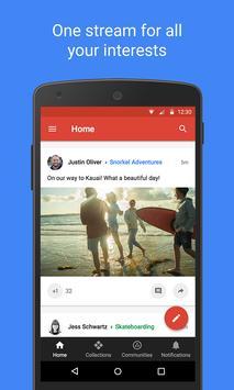 Google+ screenshot