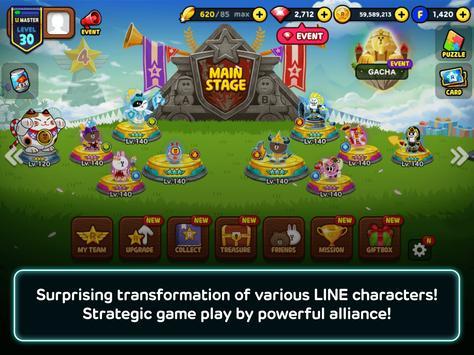 LINE Rangers screenshot
