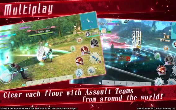 Sword Art Online: Integral Factor screenshot